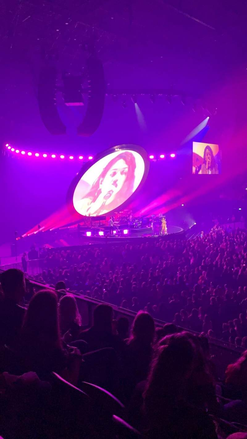 Seating view for Ziggo Dome Section 110 Row 6 Seat 347