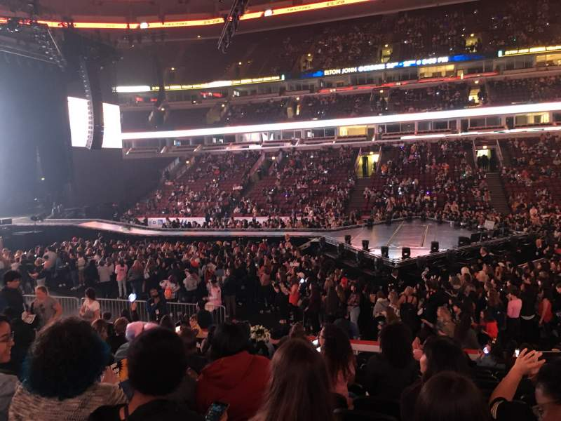 United Center, section 111, row 13, seat 4 - BTS tour ...