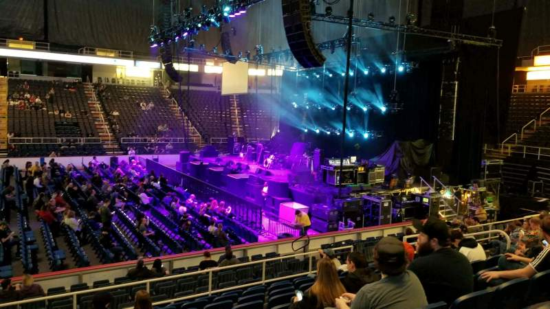 Seating view for Times Union Center Section 119 Row K Seat 15