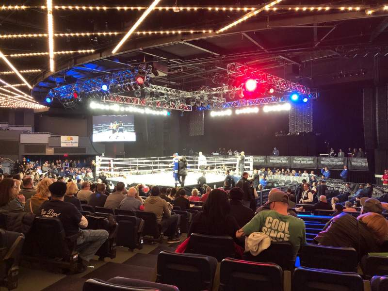 Seating view for Hulu Theater at Madison Square Garden Section 204 Row J Seat 3