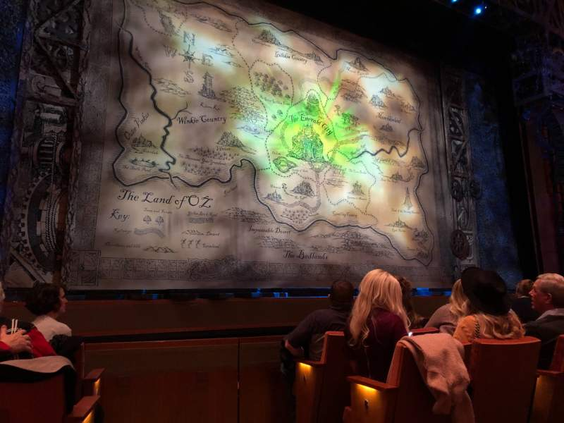 Seating view for Eccles Theater Section Orchestra L Row D Seat 102
