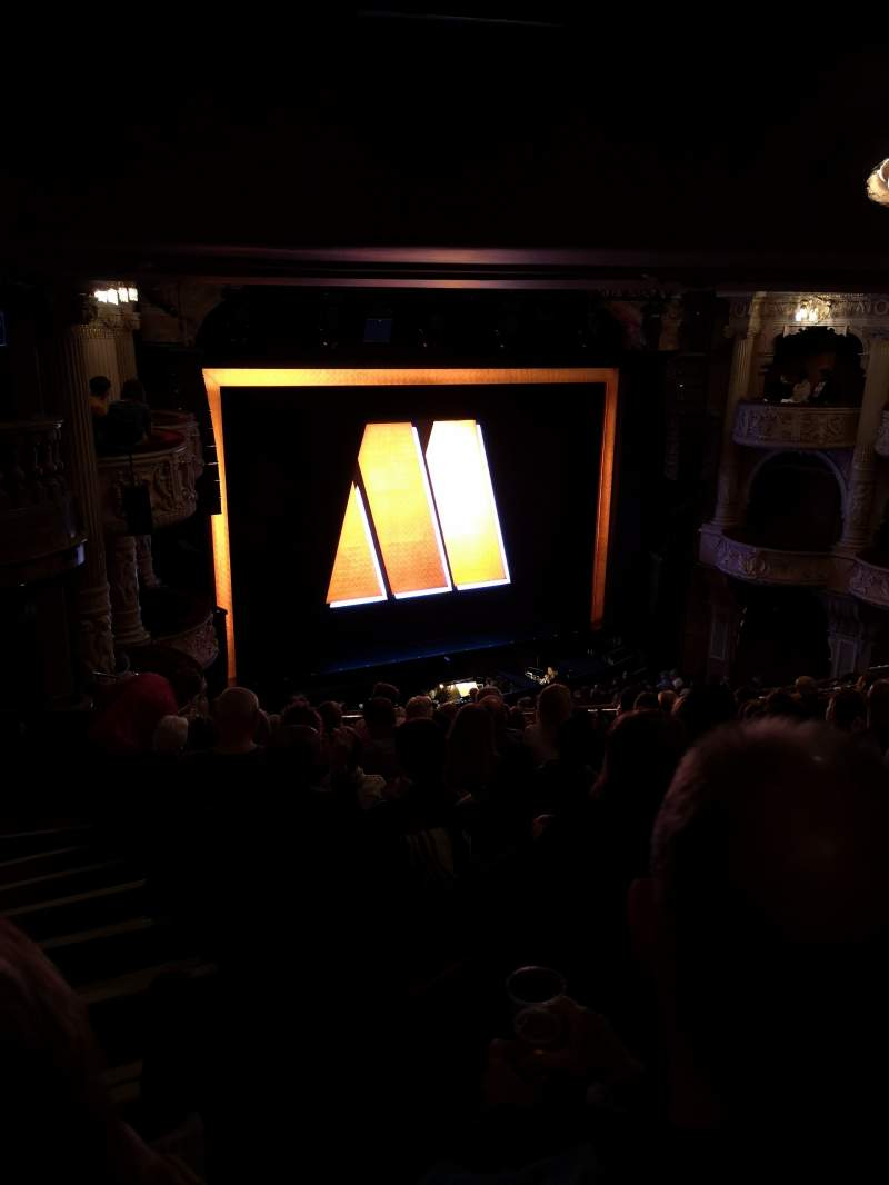 Seating view for Shaftesbury Theatre Section Royal circle Row K Seat 35