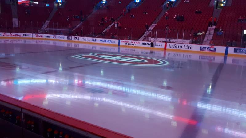 Seating view for Centre Bell Section 124 Row CC Seat 12