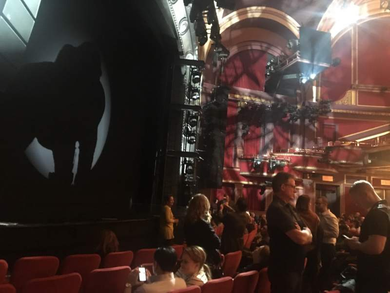 Seating view for Broadway Theatre - 53rd Street Section Orchestra L Row F Seat 10