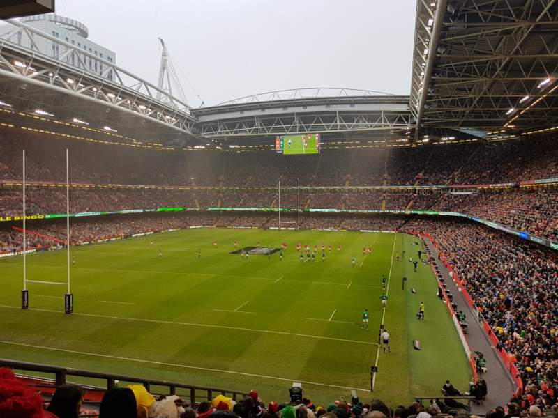 Seating view for Principality Stadium Section M38 Row 14 Seat 6