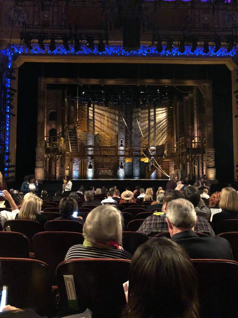Seating view for Saenger Theatre (New Orleans) Section Orchestra C Row R Seat 105