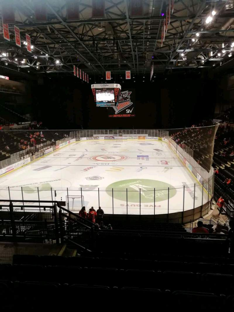 Seating view for FlyDSA Arena Section 211 Row g Seat 13