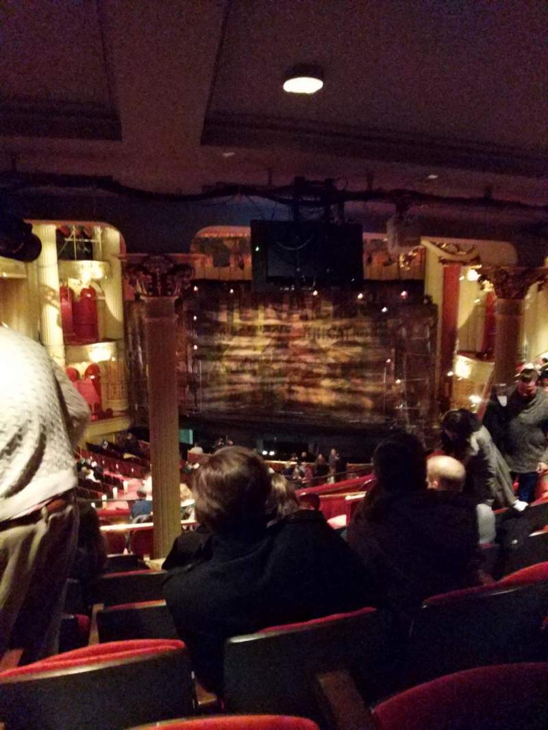 Seating view for Academy of Music Section Balcony D Row F Seat 4