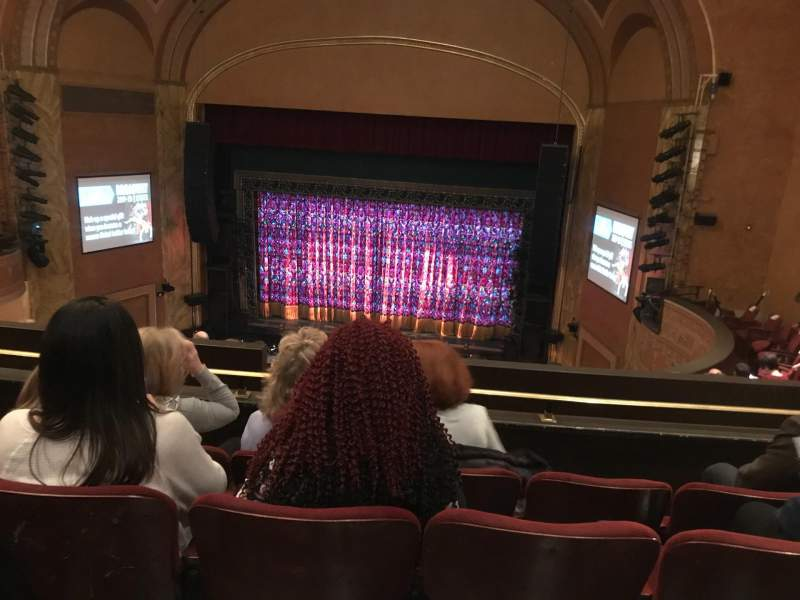 Seating view for State Theatre New Jersey Section Balcony Row G Seat 18