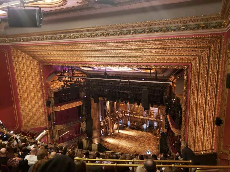Seating view for CIBC Theatre Section Balcony R Row L Seat 12