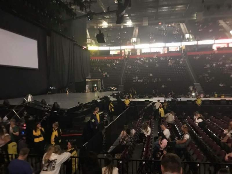 Seating view for AO Arena Section 102 Row F Seat 12