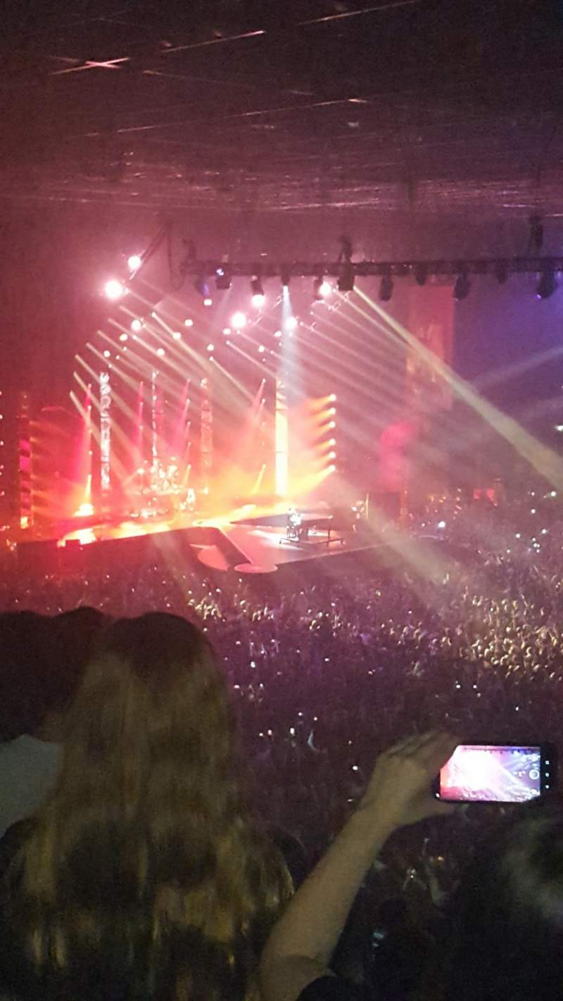 Seating view for Utilita Arena Birmingham Section 10 upper Row MM Seat 465