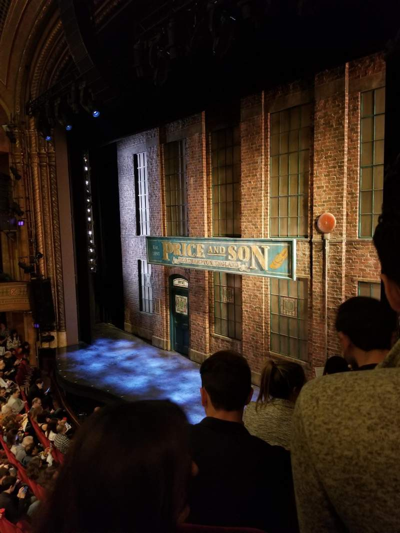 Seating view for Al Hirschfeld Theatre Section Right Box Row E Seat 13