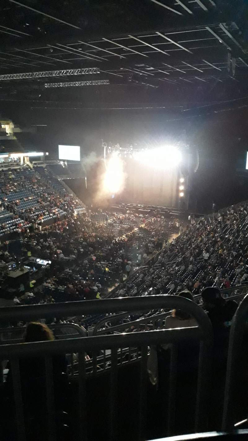 Seating view for Coliseo De Puerto Rico Section 225U Row L Seat 10