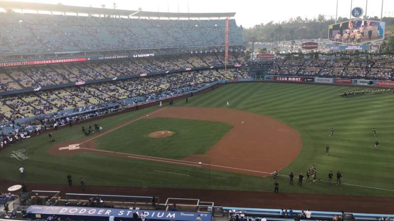 Seating view for Dodger Stadium Section 24RS Row C