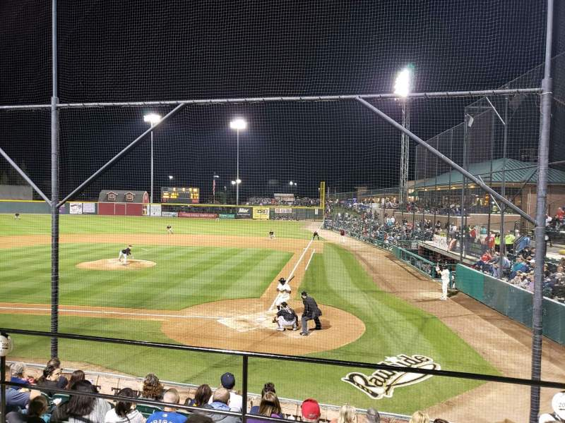 Seating view for Rawhide Ballpark Section 206 Row G Seat 2