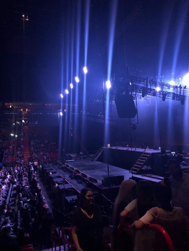 Seating view for American Airlines Arena Section 106 Row 14 Seat 1