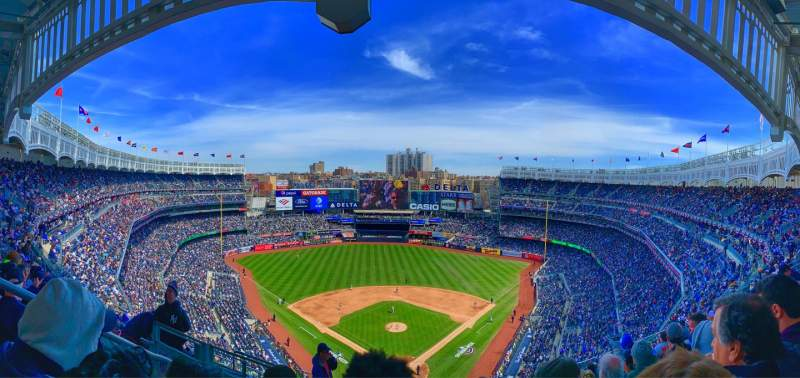 Seating view for Yankee Stadium Section 420b Row 9 Seat 28