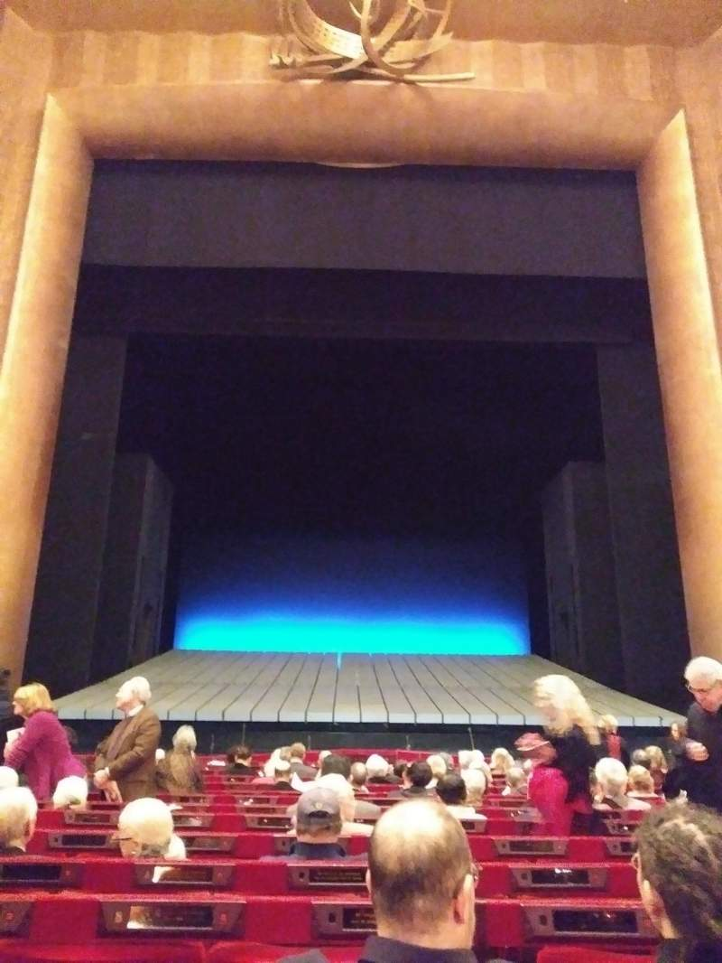 Seating view for Metropolitan Opera House - Lincoln Center Section Orchestra Row N Seat 109
