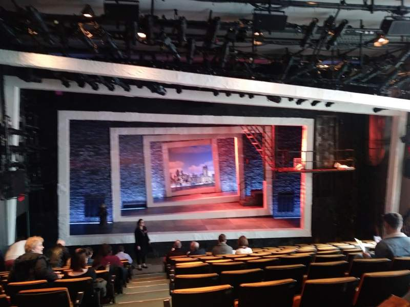 Seating view for Tony Kiser Theatre Section Orchestra Row M Seat 101