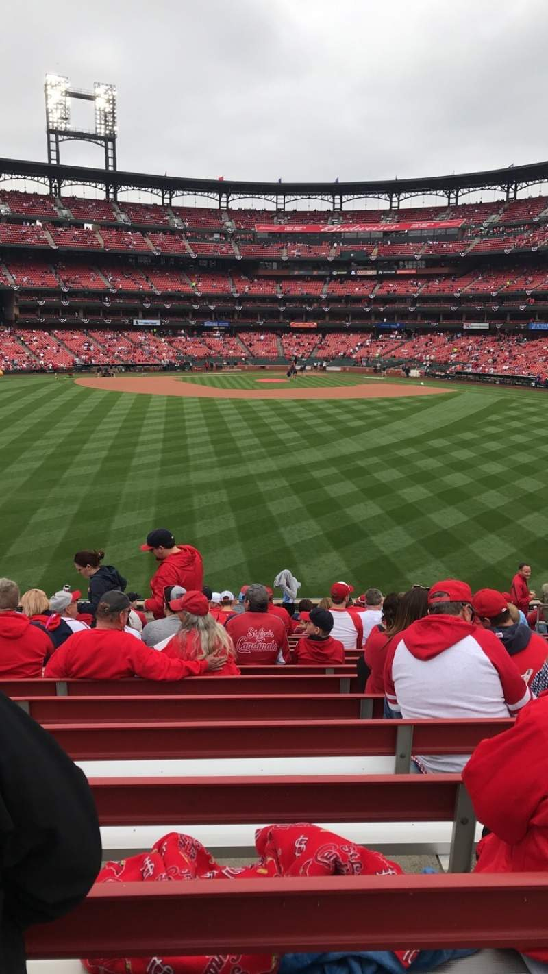 Seating view for Busch Stadium Section 195 Row 19 Seat 10