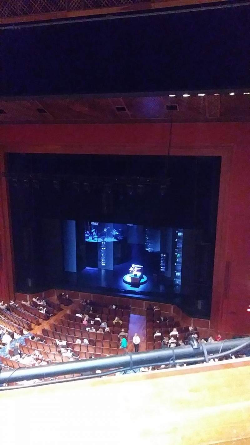 Seating view for Au-Rene Theatre at the Broward Center Section Balcony R Row A Seat 2