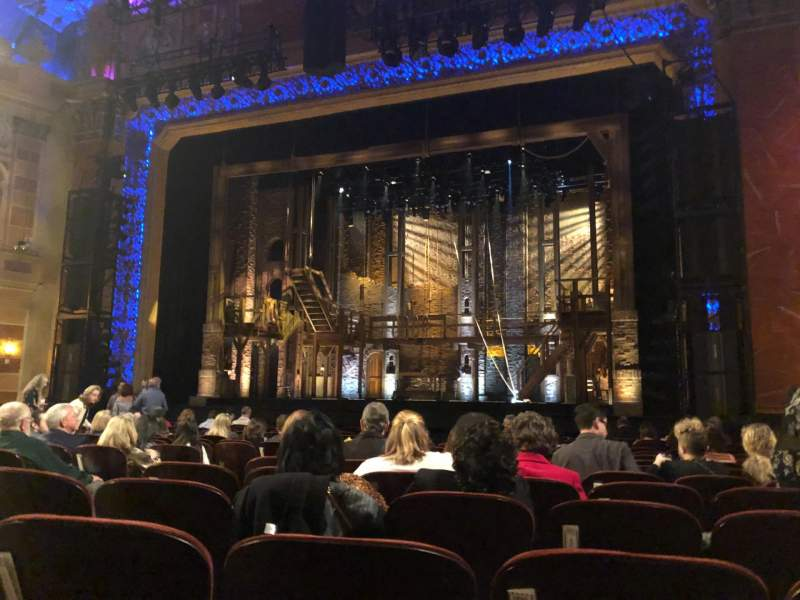 Seating view for Saenger Theatre (New Orleans) Section Orchestra R Row P Seat 10 and 12