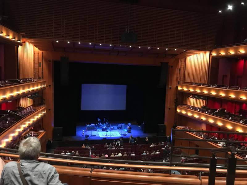 Seating view for Tobin Center for Performing Arts Section Left Mezzanine Row C Seat 2