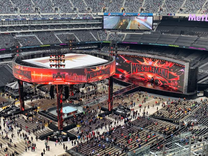 Seating view for MetLife Stadium Section 318 Row 14 Seat 15