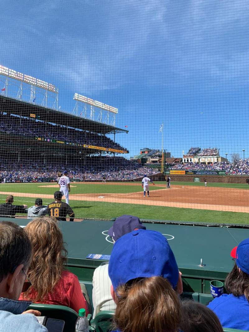 Seating view for Wrigley Field Section 26 Row 7 Seat 5