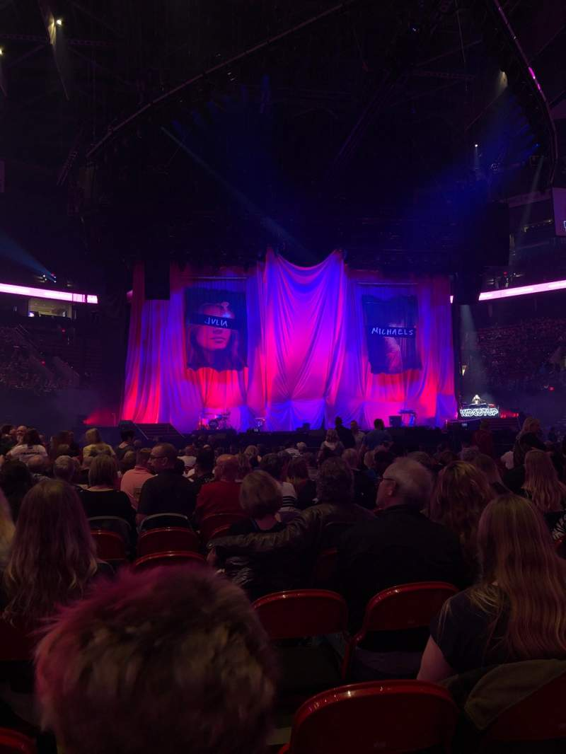 Seating view for Moda Center Section Floor Row 25 Seat 39