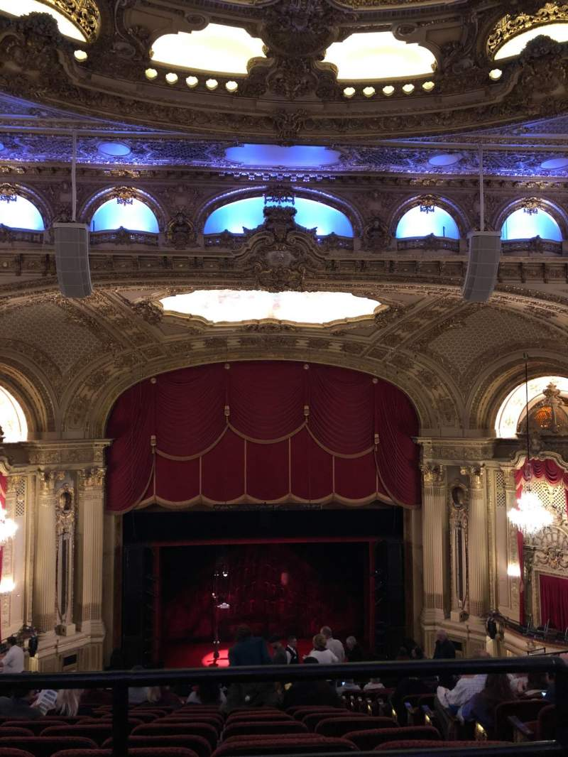 Seating view for Citizens Bank Opera House Section Balcony Center Row P Seat 111