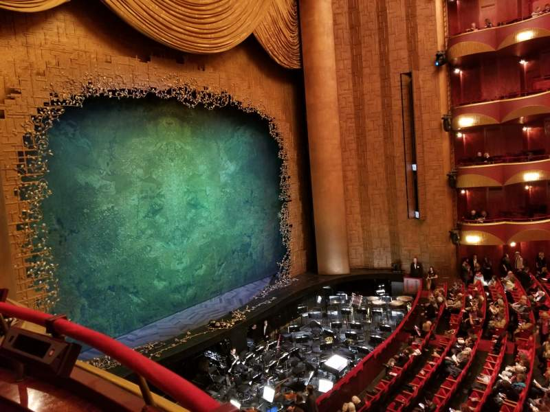 Seating view for Metropolitan Opera House - Lincoln Center Section Grand tier Row Box 33 Seat 1
