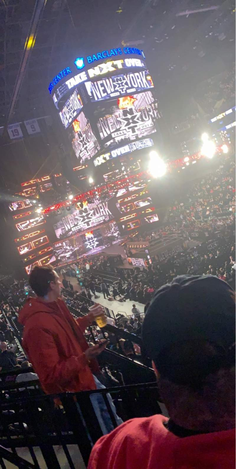 Seating view for Barclays Center Section 188 Row 5 Seat 5