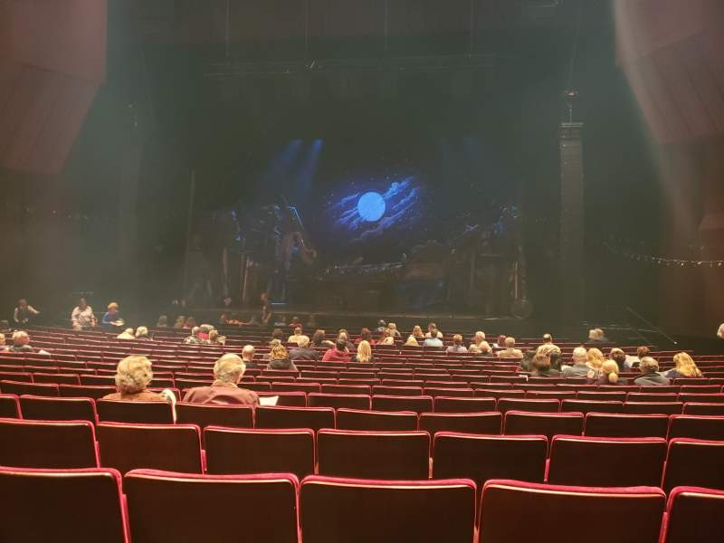 Seating view for Segerstrom Hall Section Orchestra Row O Seat 28