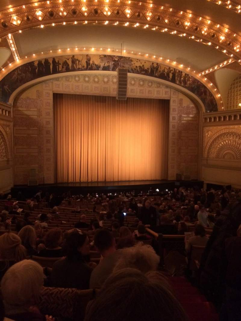 Seating view for Auditorium Theatre Section Dress-L Row HH Seat 501