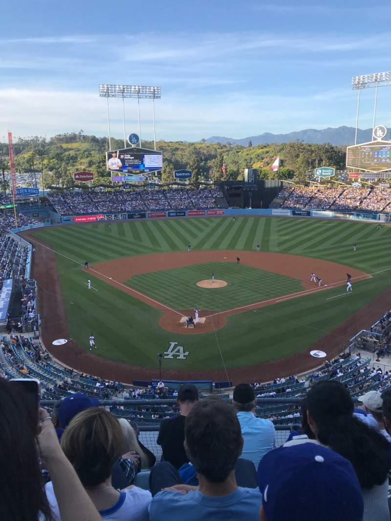 Seating view for Dodger Stadium Section 2RS Row E Seat 10