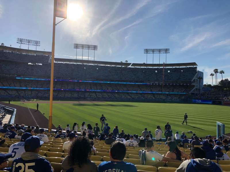 Seating view for Dodger Stadium Section 50Fd Row S Seat 15