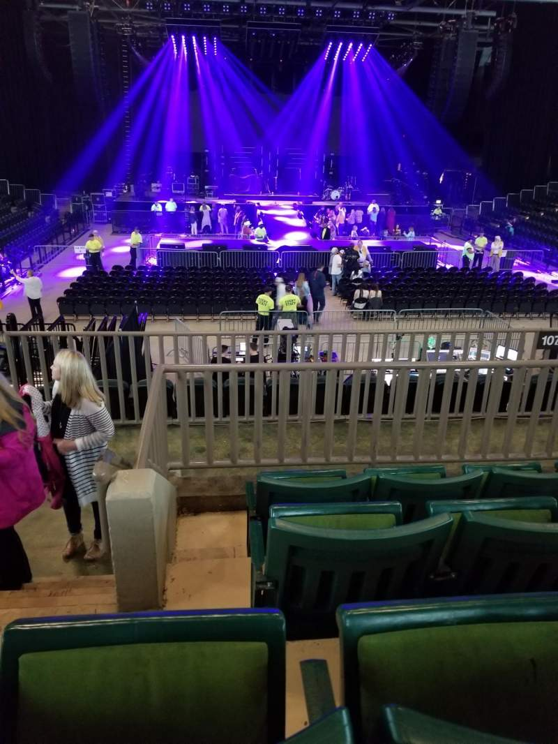 Seating view for BancorpSouth Arena Section 211 Row 4 Seat 14
