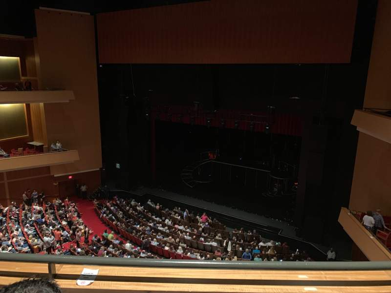 Seating view for Durham Performing Arts Center Section Balcony 10 Row B Seat 209