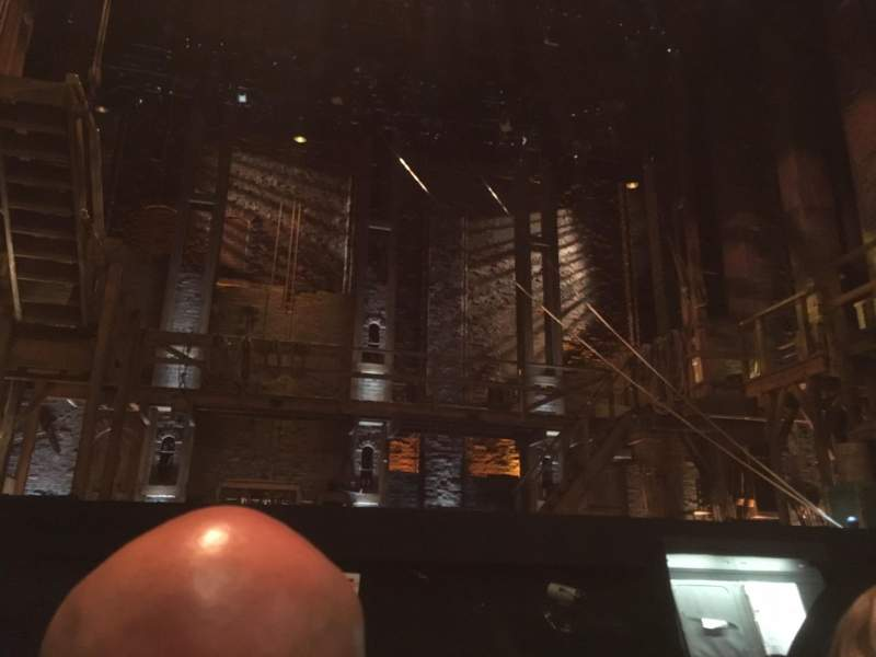 Seating view for Orpheum Theatre (San Francisco) Section Orchestra Row B Seat 105