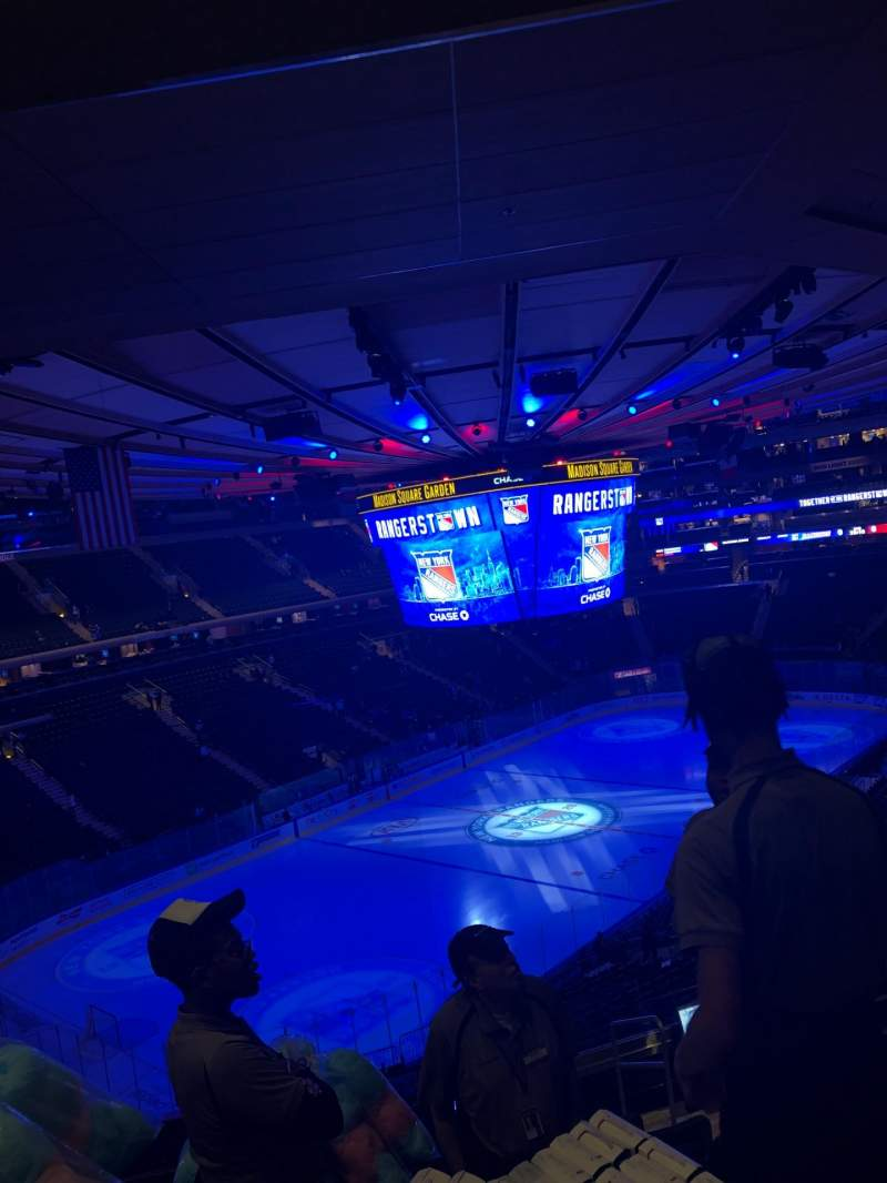 Seating view for Madison Square Garden Section 220 Row 10 Seat 25