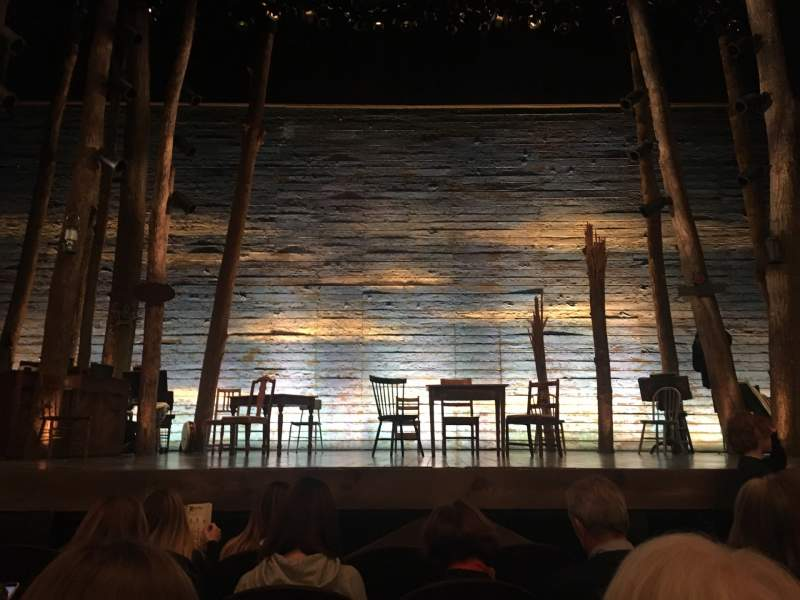 Seating view for Gerald Schoenfeld Theatre Section Orchestra C Row D Seat 108