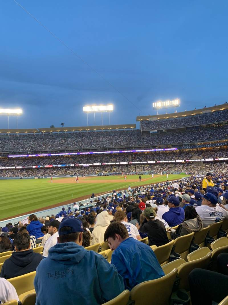 Seating view for Dodger Stadium Section 47fd Row S Seat 21