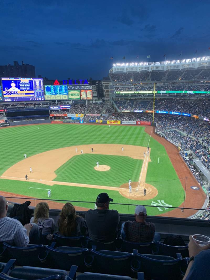 Seating view for Yankee Stadium Section 322 Row 5 Seat 8