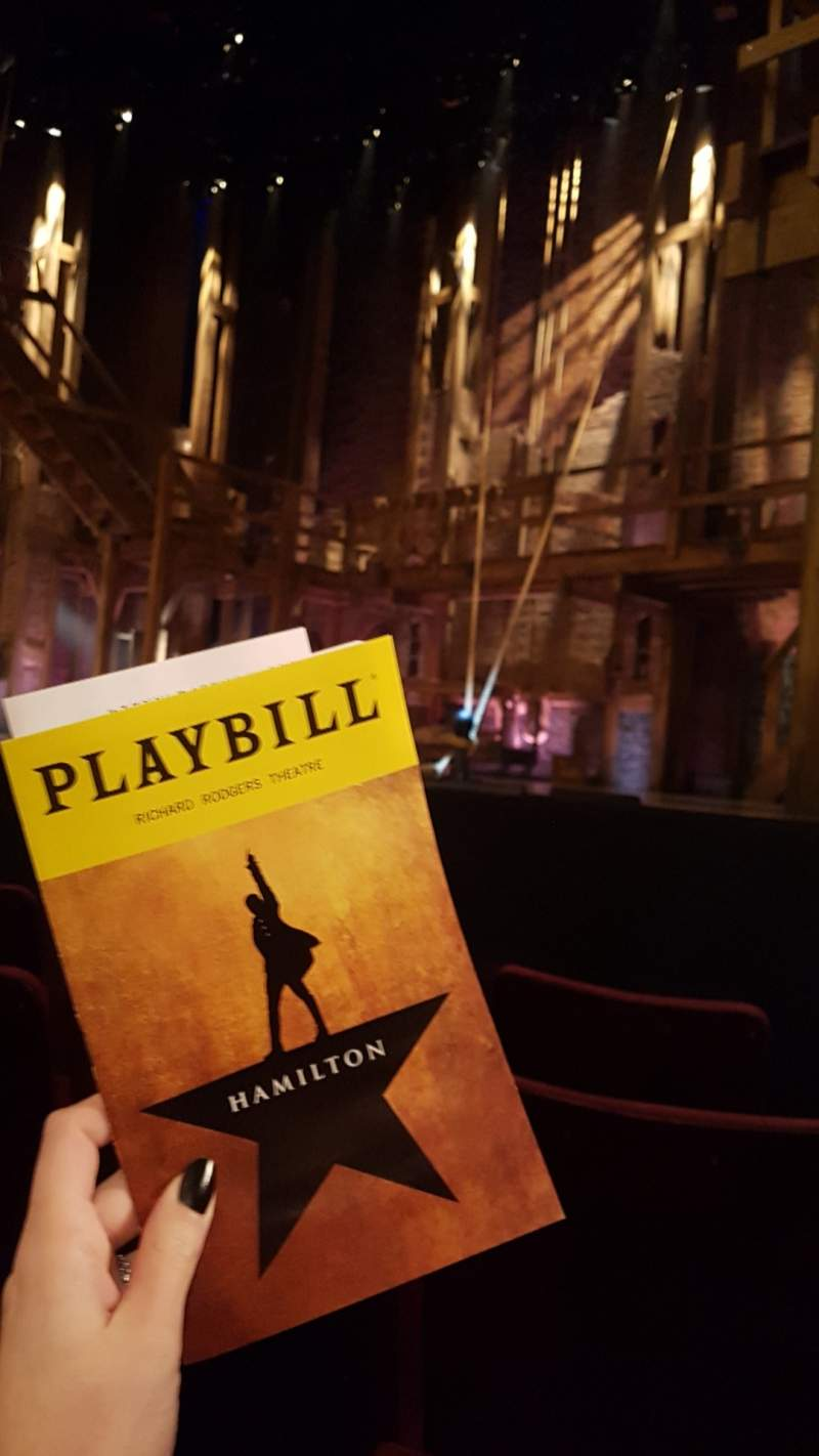 Seating view for Richard Rodgers Theatre Section Orchestra R Row C Seat 14