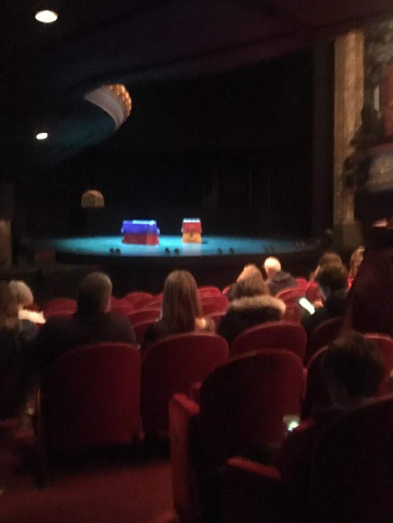 Seating view for Royal Lyceum Theatre Section Stalls Row K Seat 29