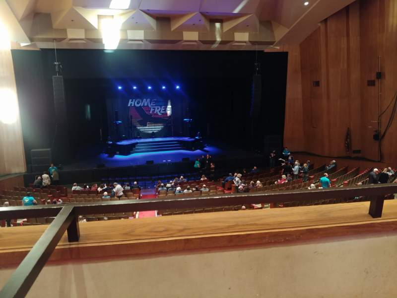 Seating view for Keller auditorium Section Box 7 Row 2 Seat 9
