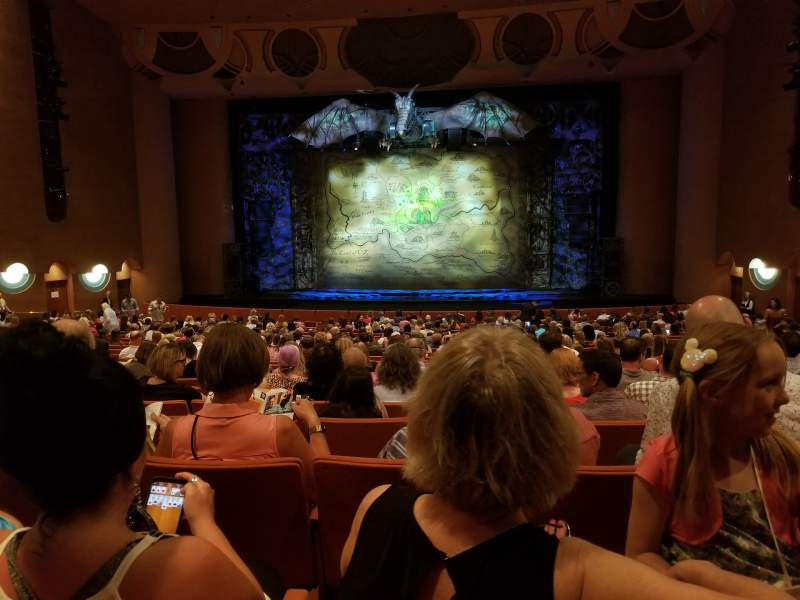 Seating view for ASU Gammage Section ORCHA2 Row 22 Seat 12