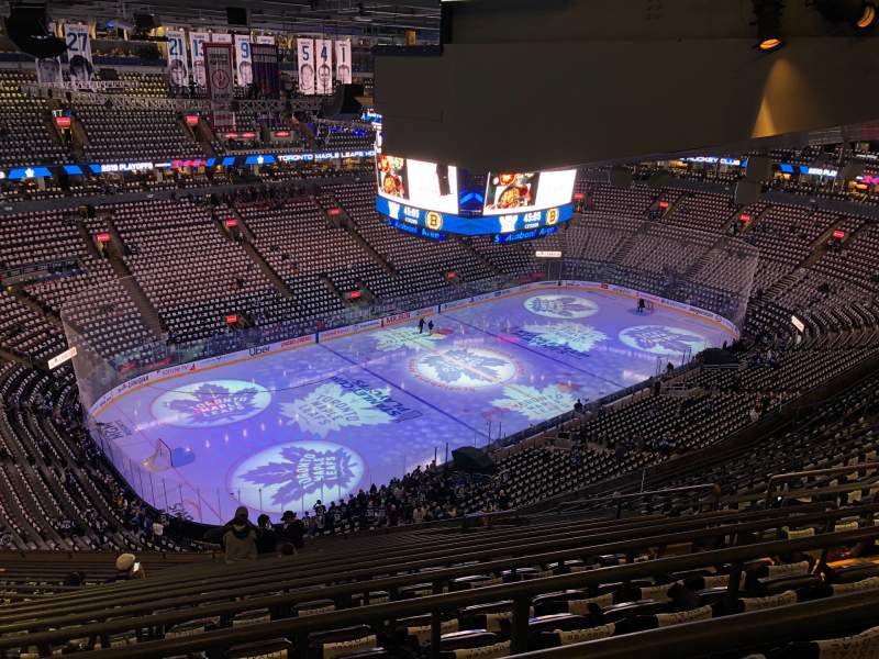 Seating view for Scotiabank Arena Section 324 Row 17 Seat 8